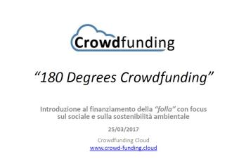 Crowdfunding Cloud a 180 Degrees Consulting